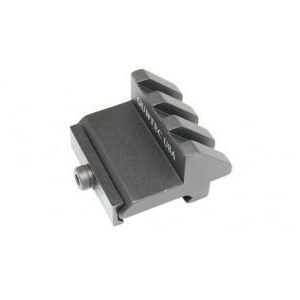 45 Deg offset Picatinny rail 3 SLOT ANGLE MOUNT