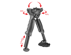 FAB-Defense® T-POD G2 Rotating Tactical ForeGrip & BiPod